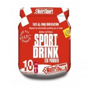 Sport drink powder Nutrisport 10 Sabor Limón