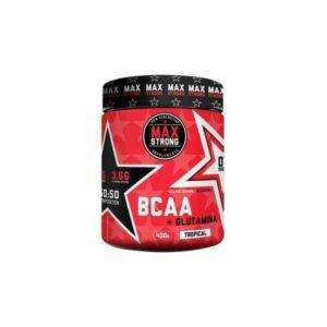 BCAA + L-glutamina Max Strong 400 Gr.